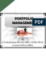 Portfolio Mgt