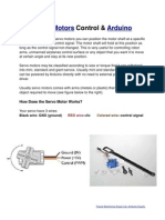 Introduction to Servo Motors & Arduino