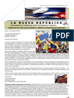 LNR 52 (Revista La Nueva Republica) 2 Octubre 2012 Cubacid.org