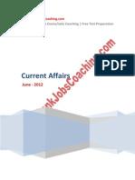 Current Affairs June 2012