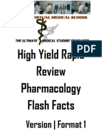 IVMS Pharmacology Flash Facts