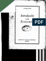 Dobb, M. - Introducción a la economía [1937] [ed. FCE, 1938]