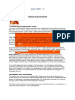 Assignment-2 (Business Environment)