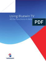 Swisscom BluewinTV Using All Manual Eng