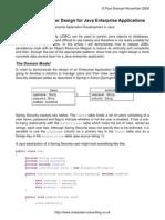 Data Access Layer Design for Java Enterprise Applications