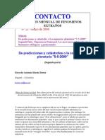 CONTACTO - Boletín Mensual de fenomenos extraños 21 - 25