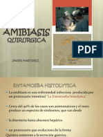 AMIBIASIS QUIRURGICA