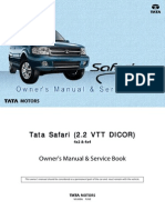 Tata Safari Dicor Manual (revised)