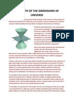 Dimensions - A Myth