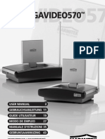 Marmitek Gigavideo 570 User Manual
