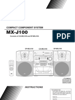 Jvc Mx-j100 Manual
