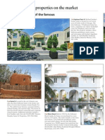 "Top Agent Network Marin members Laura Reinertsen and Kristin Sennett featured in ""The Week"" magazine's ""Best Properties on the Market - Homes of the Famous"""