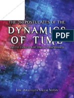 260 Postulates of the Dynamics of Time