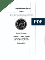 OMCB Report 18 2010