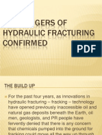 The Dangers of Fracking PowerPoint