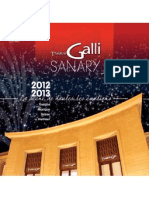Programme Theatre Galli, Sanary sur Mer 2012-13 Season