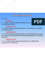 Functii Surjective