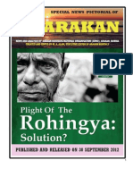Plight of the Rohingya-solution