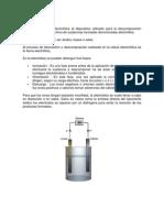 Celda electrolítica