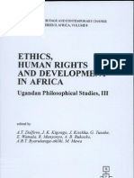 A.T Dalfovo Et Al (Eds.) - Ethics, Human Rights and Development in Africa