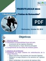 Presentación Reformas tributarias 2011 el salvador