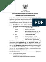 Hasil Keputusan Mahkamah Konstitusi Nomor 14/PUU-X/2012