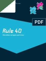 Rule 40 Guidelines Neutral