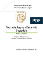 EnsayoAEO_Teoría de Juegos y Desarrollo Sostenible