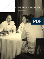 Houghton Mifflin Harcourt Spring 2013 Adult Catalog