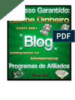 Sucesso Garantido - Ganhe Dinheiro Com Seu Blog