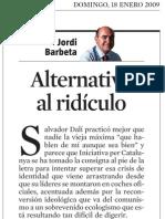 Jordi Barbeta. Alternativa Al Ridículo