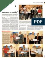 """Entrega de premios II Concurso """"Asi somos en mi pueblo"""" - 2012"""