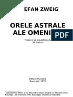 Zweig, Stefan - Orele Astrale Ale Omenirii v1.0