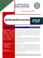 Syntelli SAS - Spotfire Managed Services