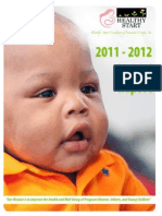 2012 Annual Report - Healthy Start Coalition of Sarasota County, Inc.