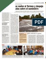 Fin de la Sequia del Rio Tormes - Puente del Congosto