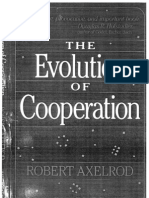 Axelrod - The Evolution of Cooperation