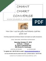Chant Chart Converse Poster