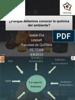 Quimica ambiental 2012