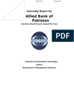 Internship Report on Allied Bank(1)