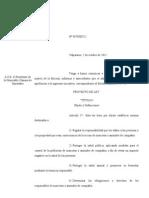 Proyecto Ley 02102012