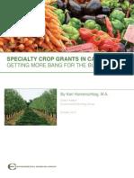 Specialty Crop Grants