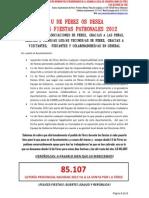 I.U DE FÉREZ OS DESEA FELICES FIESTAS PATRONALES 2012
