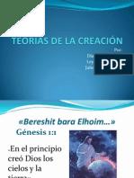TEORIAS DE LA CREACION