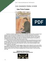 Ana Vera Lemos - Uma nova chance para viver (Paixão Ardente 11)
