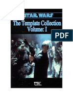 Star Wars D6 Template Collection I