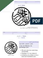 120927 Stencil Islam, Grunderna