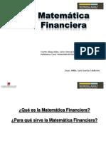 introduccion Matematica Financiera