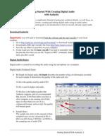 Audacity Quick Guide