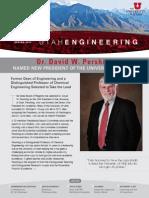 College of Engineering at the University of Utah - Spring 2012 Newsletter